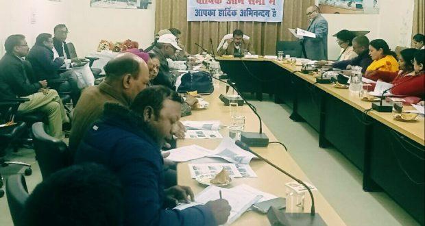 डीएम सी रविशंकर ने रेडक्रॉस सदस्यों की बैथक लेकर दिए दिशानिर्देश