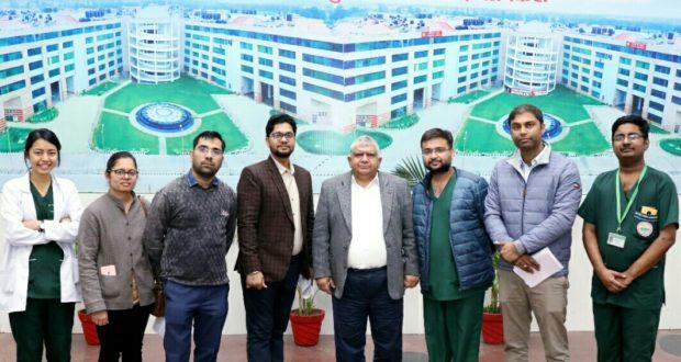 इंडो – नेपाल बॉर्डर पर स्वास्थ्य सेवा यात्रा के लिए एम्स की टीम रवाना