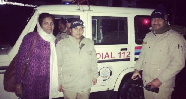 परेशान महिलाओ का सहारा दून पुलिस का एक सौ बारह (112)