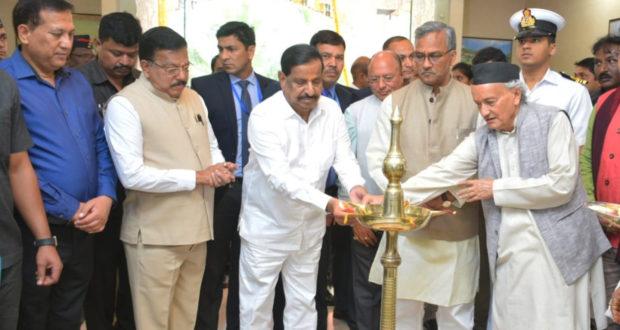 नवी मुम्बई में राज्य अतिथि गृह एवं एम्पोरियम ''उत्तराखण्ड भवन'' का लोकार्पण हुआ ..