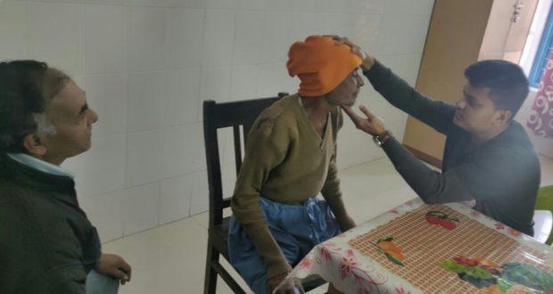 एम्स के केंसर के मरीजों का निशुल्क जांच शिविर सम्पन्न
