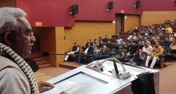 प्रबुद्ध सम्मेलन में शहरी विकास मंत्री मदन कौशिक ने NRC के सम्बंध में दिए लोगो को जवाब