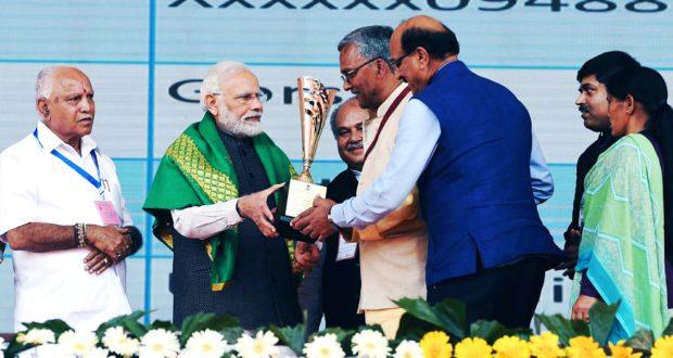 उत्तराखण्ड को मिला खाद्यान्न उत्पादन श्रेणी 2 में 2017-18 के लिए कृषि कर्मण अवार्ड