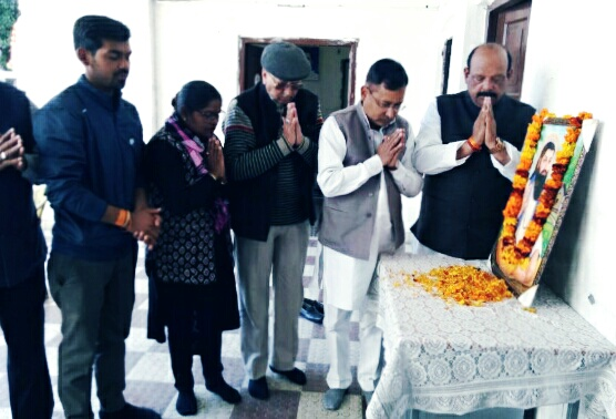 सन्त रविदास के विचारों को जीवन मे आज के संदर्भ में उतारने की जरूरत…कांग्रेस अध्यक्ष प्रीतम सिंह
