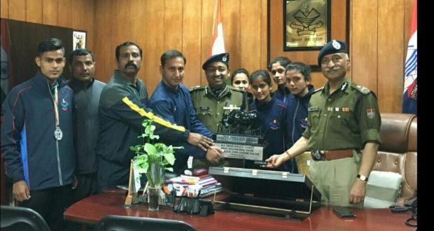 68वीं अखिल भारतीय पुलिस एथलेटिक्स चैम्पियनशिप 2019 उत्तराखण्ड पुलिस को बेस्ट डिसिप्लिन अवार्ड
