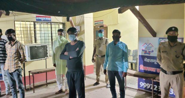 सहसपुर के एक घर में धारा 144 के बावजूद नमाज पढ़ रहे लोगो पर मुकद्दमा दर्ज