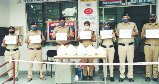 113 पुलिस कर्मियों ने माना 124 परिवारो को अपना परिवार लॉक डाउन तक राशन भोजन दवाई की ली जिम्मेदारी….नेहरू कॉलोनी थाना