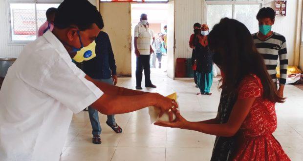 लायंस क्लब भी जरूरतमन्दों की सेवा को आया आगे,हॉट ज़ोन में भी मदद जारी…टीटू प्रवीन त्यागी