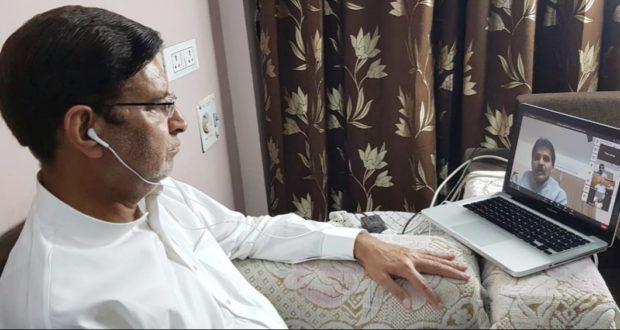 कांग्रेस के राष्ट्रीय पदाधिकारियों को  वीडियो कॉन्फ्रेंसिंग में प्रीतम सिंह ने प्रदेश की स्थिति से कराया अवगत