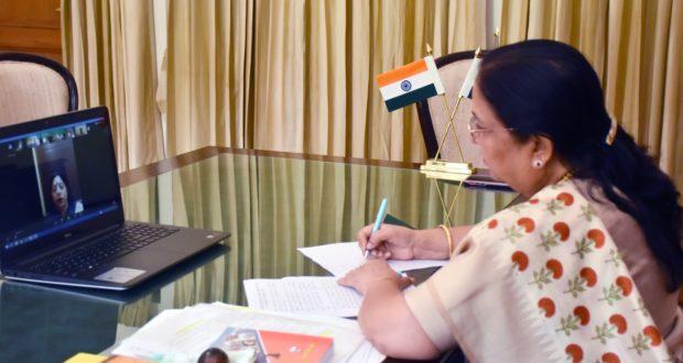 महिलाएं भारतीय अर्थव्यवस्था की धुरी ओर देश के लिए महत्त्वपूर्ण भूमिका में है…राज्यपाल बेबी रानी मोर्य