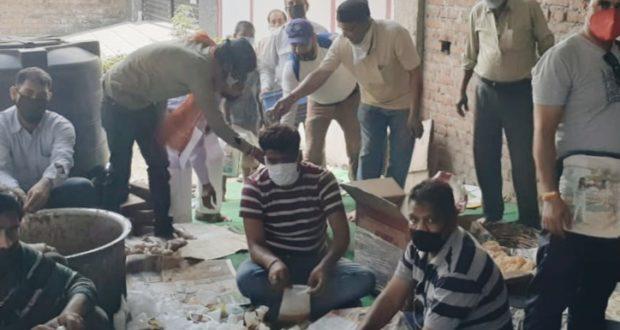 जनहित में वार्ड 52 अजबपुर सरस्वती विहार में चल रही भोजन व्यवश्था फिलहाल समाप्त हुई