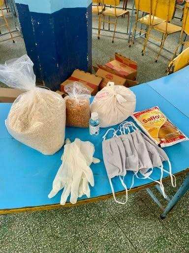 राजपुर विधायक खजानदास ने बांटी श्रम विभाग की300 किट