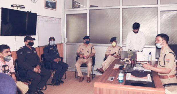 राजधानी ट्रैफिक पुलिस की नई बेवसाइट का विधिवत शुभारम्भ