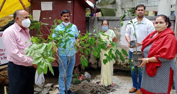 विश्व पर्यावरण दिवस पर 50हज़ार पौधे लगाने का संकल्प ..टीटू त्यागी