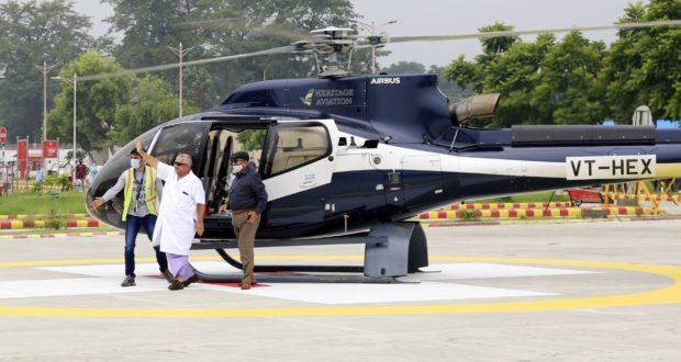 एम्स ऋषिकेश देश का पहला सरकारी स्वास्थ्य संस्थान जिसकी अपनी हेलीपेड़, एयर एंबुलेंस सेवा की ट्रॉयल लेंडिंग सफल….पद्मश्री रविकांत