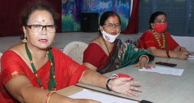 गोर्खाली महिला हरितालिका तीज उत्सव समिति धूमधाम से मनाएगी गोर्खाली महिला हरितालिका तीज उत्सव…कमला थापा