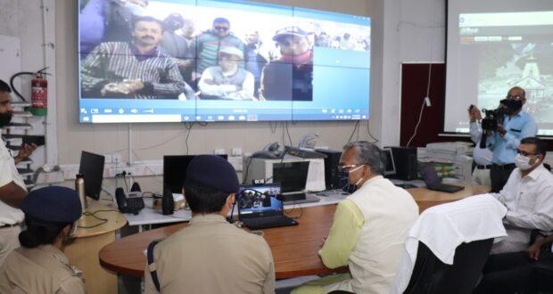 Q.D.A SDRF उपयोग कर रहा है और उत्तराखंड देश में प्रथम राज्य है जो इस टेक्नोलॉजी का उपयोग कर रहा है वर्तमान में देश में NDRF ओर पैरामिलेट्री फोर्सेस इसका उपयोग कर रहे हैं…सीएम त्रिवेंद्र