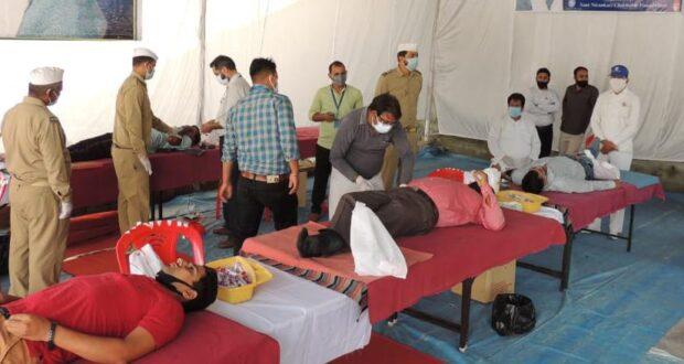 संत निरंकारी चैरिटेबल फाउंडेशन ने की 65 यूनिट रक्त दान