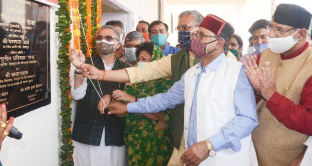 रिस्पना ,बिंदाल को नमामि गंगे में 64 करोड़ की योजना हेतु भूमि पूजन ओर 1.48 करोड़ के रेनबसेरे का उद्घाटन किया सीएम त्रिवेंद्र ने