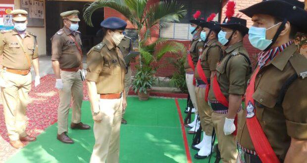 एस पी सिटी ने किया थाना रायपुर का अर्धवार्षिक निरीक्षण,मातहतों को दिए आवश्यक दिशा निर्देश।