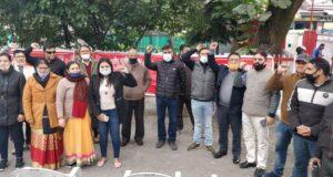 आल इंडिया पोस्टल इम्प्लॉइज यूनियन उत्तराखंड के आह्वान पर एकदिवसीय हड़ताल में दूंन के सभी डाकघर में काम प्रभावित
