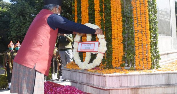 भारत की सुरक्षा और विश्व के इतिहास में विजय दिवस एक महत्वपूर्ण दिन,हमारे जवानों के अद्भुत पराक्रम से इस युद्ध में एक बड़ी विजय भारत को मिली थी…सीएम त्रिवेंद्र