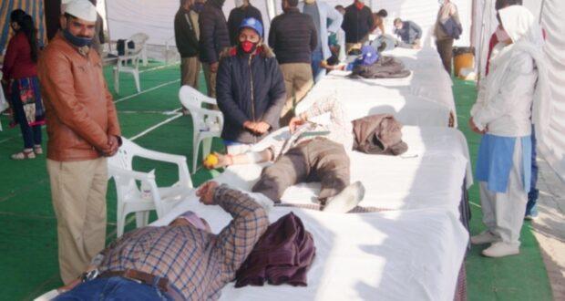 रक्त नाली में नही नाड़ी में बहे, संत निरंकारी चैरिटेबल फाउंडेशन के रक्तदान शिविर में 58 यूनिट रक्तदान