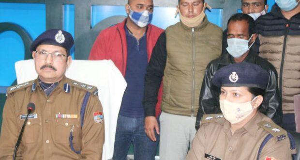 2017 में गैंगरेप व हत्या के आरोपी 5000 रू0 के ईनामी को दून पुलिस ने पंजाब से किया गिरफ्तार