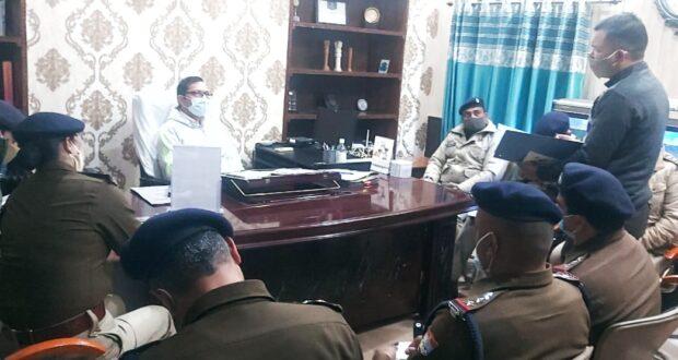 32 वें सड़क सुरक्षा माह का शुभारंभ डीजीपी अशोक कुमार ने ADGP केवल खुराना की मौजूदगी में दीप जलाकर किया