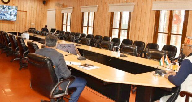 सीएम त्रिवेंद्र ने कहा कोविड-19 टीकाकरण हेतु किए जाएं पुख्ता इंतजाम, सीएस ने दी जानकारी  12 जनवरी को प्रदेशभर में ड्राई रन।