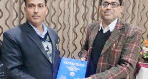 अधिवक्ता आशीष कुलश्रेष्ठ को लॉ में शोध के लिए पीएचडी की उपाधि..