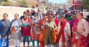 कांग्रेस की महिला महानगर अध्यक्ष कमलेश रमन ने बैठक ली, कहा सभी बूथों में बूथ कमेटी बने