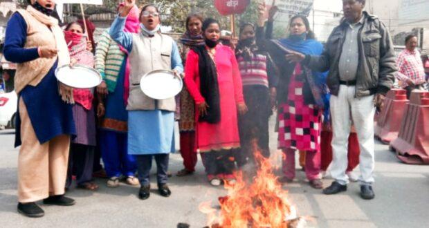 गरीब की  थाली खाली है कांग्रेस की ये मुहिम सरकार के खिलाफ जारी रहेगी…कमलेश रमन