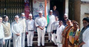 सेवादल के ध्वजवन्दन कार्यक्रम,रवि ढींगरा को रायपुर विधानसभा अध्यक्ष  ओर ऋषिपाल को वार्ड अध्यक्ष की जिम्मेदारी