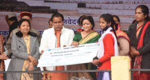 महिला दिवस पर 156 NGO को 5 करोड़ 27 लाख का ब्याज मुक्त ऋण वितरित