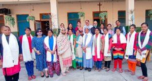 महिला कांग्रेस ने वर्द्धा आश्रम प्रेमधाम में मनाया अन्तरर्राष्ट्रीय महिला दिवस