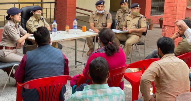 कम्युनिटी लाइजनिंग ग्रुप की मीटिंग का आयोजन थाना राजपुर में सम्पन्न