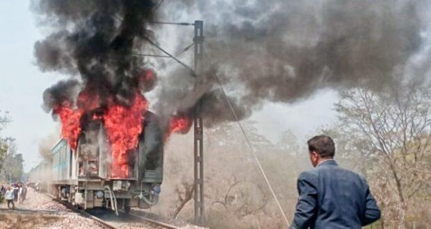 दिल्ली से चली शताब्दी एक्सप्रेस दून पहुंचने से पहले ही आग में घिरी,35 यात्रियों ने भागकर बचाई जान,सभी पैसेंजर सुरक्षित