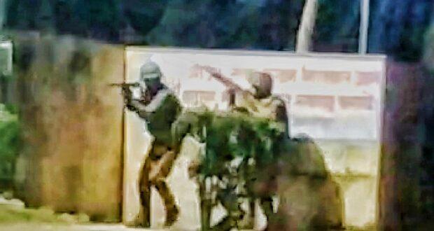 धाँय धाँय ..हरिद्वार के कुम्भ मेला क्षेत्र के एक होटल में घुसे आतंकवादियो को किया पुलिस ने ढ़ेर (मॉक ड्रिल)