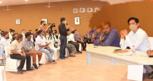 कुम्भ में आयोजित हुई कुंभ-मीडिया का बदलता स्वरूप-समाधान और चुनौतियां विषय पर मीडिया कार्यशाला