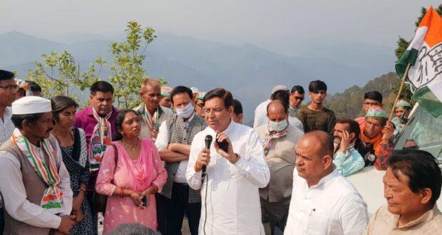 धनबल के सहारे चुनाव लड़ रही भाजपा को जनबल से हराकर जवाब देगी कांग्रेस….प्रीतम  सिंह