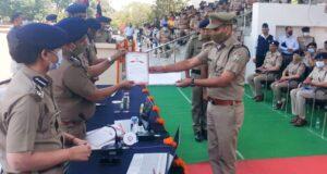 डीजीपी ने उत्कृष्ट कार्य करने वाले 46 पुलिसकर्मीयों को सम्मानित कर बढ़ाया उत्साह