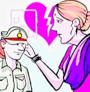 महिला दरोगा से शादीशुदा दारोगा करने चला शादी, बारात से पहले हो गयी रिपोर्ट