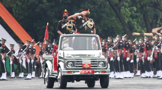 इंडियन मिलिट्री अकादमी ने फिर दिये 425 सैन्य अफसर,देश को 341 और मित्र देशों को 84,मुकेश कुमार को सोर्ड ऑफ ऑनर