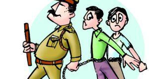 पीडब्लूडी एनएच के दो अधिकारी रिश्वत लेते विजिलेंस ने किए अरेस्ट
