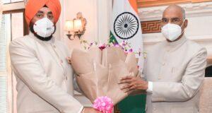 राज्यपाल गुरमीत सिंह (सेनि.) ने दिल्ली में राष्ट्रपति,उपराष्ट्रपति एवम ग्रह मंत्री से शिष्टाचार भेंट की