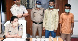 कई चोरियों के आरोपी निकले नशेड़ी,दून पुकिस ने किया गिरफ्तार